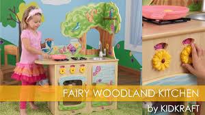 Kidkraft Petal Pink Kitchen Childrens Fairy Woodland Kitchen Toy Review Youtube
