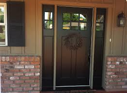 Entry Door Sidelights Therma Tru Fiberglass Doors Exterior Steel
