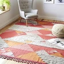 west elm torres wool kilim rug kids room rugs floor and