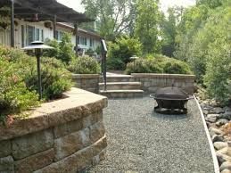 ... Enchanting Gray Rectangle Rustic Stone Do It Yourself Landscaping  Decorative Small Rock Design: ...