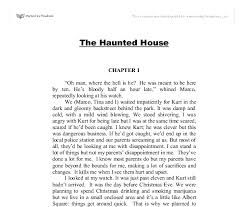 the haunted house gcse english marked by teachers com document image preview