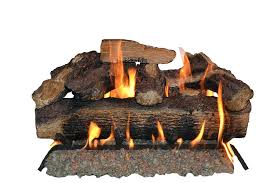 fireplace gas logs vented inch natural gas fireplace gas logs mountain oak dual burner vented gas
