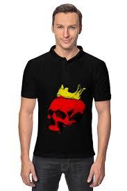 Рубашка Поло <b>Череп короля</b> #2339171 от andy@varhula.ru по ...