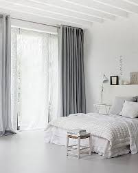 grey bedroom curtains. white bedroom with grey curtains\u003e\u003e oh my flipping yes! curtains in master bedroom!