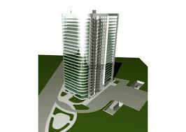 Дипломный проект общественные здания в Автокаде низкие цены Административно гостиничный комплекс на 25 этажей с подземной автостоянкой в г Чебоксары
