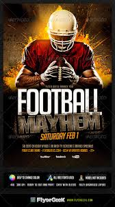 football flyer templates are there athletic flyer templates for psd football flyer template