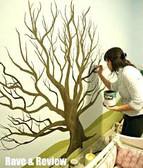 tree wall mural stunning and beautiful paintings for your inspiration diy family