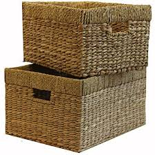 tall storage baskets. Brilliant Baskets Jcp  BaumEssex Set Of Two Tall Storage Baskets In E