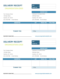 Delivery Confirmation Form Template Free Google Docs Invoice Templates Smartsheet 9