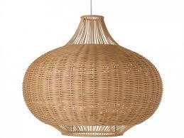 rattan lamp pendant