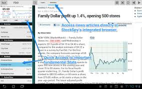 Stocks Realtime Quotes Charts Android Free Download