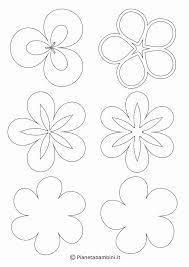Fiori Stilizzati Disegni Da Colorare