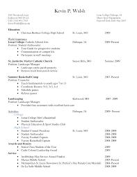 Exelent High School Resume For Scholarship Sample Ensign