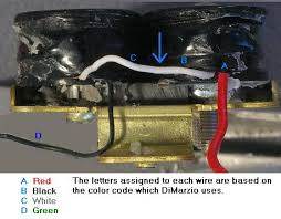 guitar wiring site humbucker construction either of those wires the safest way to do this is by heating the insulation a ering iron while being very careful not to let the ering