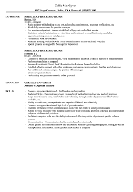 Medical Office Receptionist Resume Medical Office Receptionist Resume Samples Velvet Jobs 20