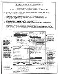 Dd Form Orange Instruction Sheet For Completing DD Form 24 24