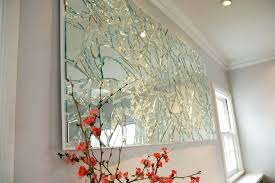 elegant wall mirrors home decoration elegant art broken glass mirror and wall mirrors within ideas 7