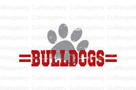 Commercial use cartoon of bulldog vector clip art image number 131699. Bulldogs Graphic By Cutfilesgallery Creative Fabrica