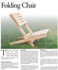 collapsible furniture plans folding chair 1 simple