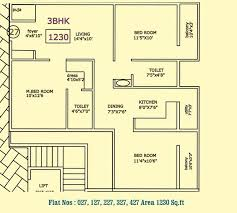 vaastu hill view ii floor plan