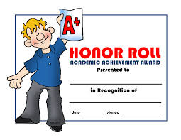28 Collection Of Honor Roll Clipart Free High Quality Free