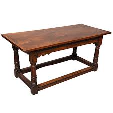 17th century english oak refectory table for
