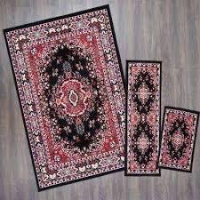 3 piece rug set area mainstays faux sisal n 3 piece area rug set