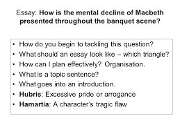 tracking macbeth s decline act scene essay how is the 2 essay