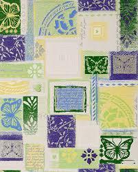 Design Behang Edem 071 25 Scrapbooking Patroon Behangpapier Vinyl