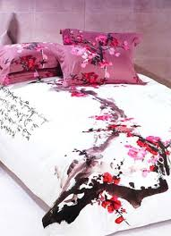 4-pc Classical White And Red Cotton Duvet Cover Oriental Bedding ... & 4-pc Classical White And Red Cotton Duvet Cover Oriental Bedding Set US$  79.99 Adamdwight.com