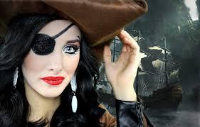 y pirate halloween makeup tutorial