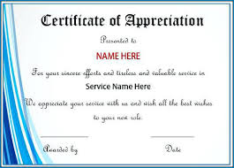 free recognition certificates certificate of recognition template free editable 225