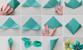 Making Of Flower With Paper 18 Easy Ways How To Make Paper Flowers Step By Step With