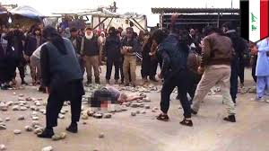 ISIS kills Muslim woman and man by stoning just for having sex out.