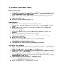 freelance designer description 9 graphic designer job description templates free premium templates