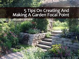 5 Tips On Creating and Making A Garden Focal Point