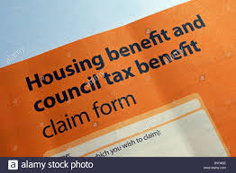 Housing Benefit Form A Housing And Council Tax Benefit Form Stock Photo 24 Alamy 5