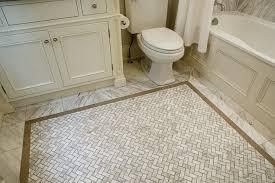 marble herringbone tiles