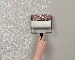 Easy To Make Wall Paint Art Own Creation Floral Patterned Tools Amazing  Life Hack Household Modern Innovative