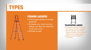 Ladder Ratings Chart Types Of Ladders The Home Depot