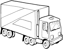 Truck Coloring Pages For Kids 40 free printable truck coloring pages download on jacked up truck coloring pages