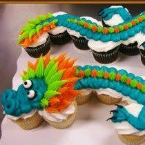Dragon Cupcake Cake Decorated By Leslie Schoenecker At Walmart