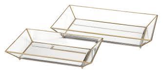 Decorative Glass Trays Mercer100 100 Piece Maison Decorative Glass Trays Set Reviews Wayfair 35