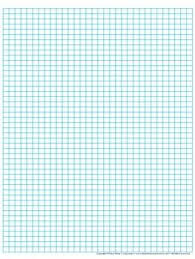 Graph Paper Full Page Grid Half Centimeter Squares