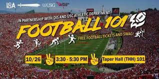 Usc Football Seating Chart 2018 Football 101 And Free Game Tickets Usc Viterbi Current