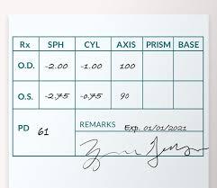 How To Read Your Eyeglass Prescription Zenni Optical