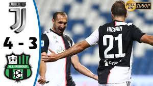 Juventus vs Sassuolo 4−3 - All Gоals & Extеndеd Hіghlіghts - 2020 - YouTube