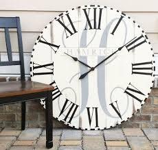 large wall clock oversized wall clock