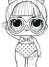 Doll Coloring Pages Free Decoration Ideas Of Crazy Hair Best