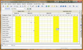 schedule creater 8 free schedule maker authorization letter